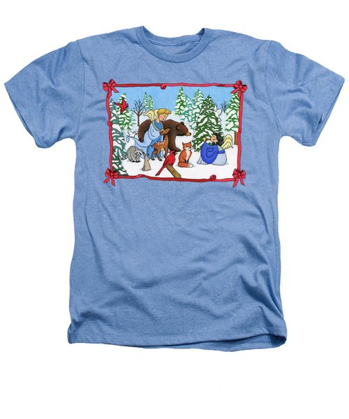 A Christmas Scene 2 Heathers T-Shirt by Sarah Batalka