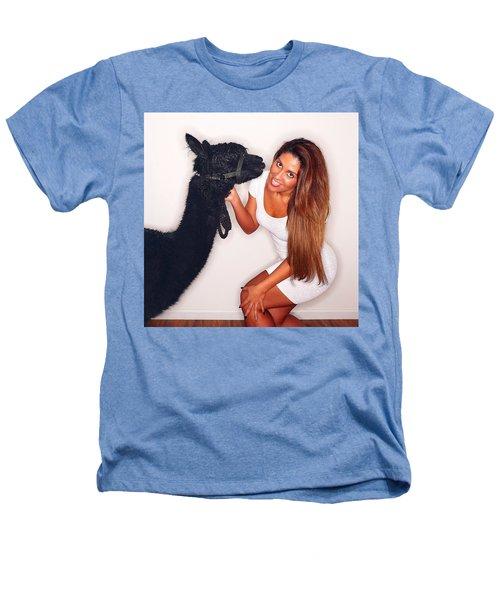 Alpaca Emily And Breanna Heathers T-Shirt by TC Morgan