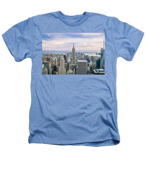 Amazing Manhattan Heathers T-Shirt by Az Jackson