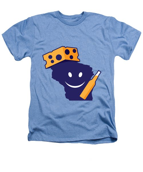 Another Wisconsin Tailgator Heathers T-Shirt by Geoff Strehlow