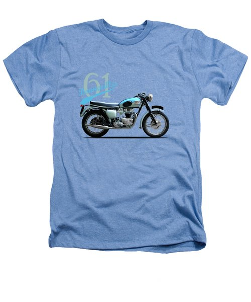 Triumph Bonneville Heathers T-Shirt by Mark Rogan