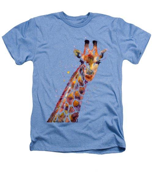 Giraffe Heathers T-Shirt by Hailey E Herrera