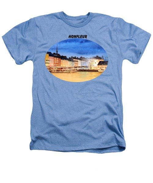 Honfleur  Evening Lights Heathers T-Shirt by Bill Holkham