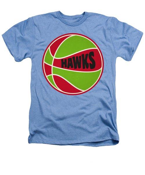 Atlanta Hawks Retro Shirt Heathers T-Shirt by Joe Hamilton