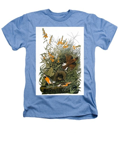 Audubon: Meadowlark Heathers T-Shirt by Granger