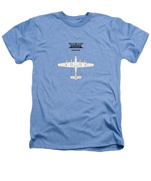 Avro Lancaster Heathers T-Shirt by Mark Rogan