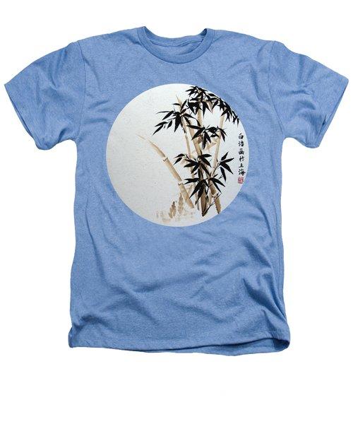 Bamboo - Braun - Round Heathers T-Shirt by Birgit Moldenhauer