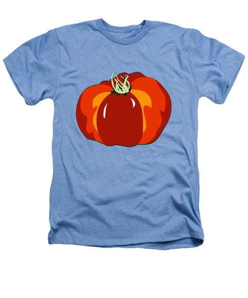 Beefsteak Tomato Heathers T-Shirt by MM Anderson