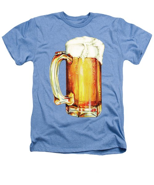 Beer Pattern Heathers T-Shirt by Kelly Gilleran