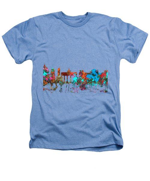 Berlin Germany Skyline  Heathers T-Shirt by Marlene Watson