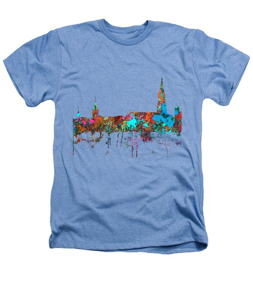 Berne Switzerland Skyline Heathers T-Shirt by Marlene Watson