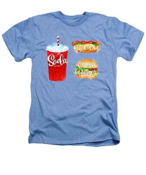 Black Soda Heathers T-Shirt by Aloke Design