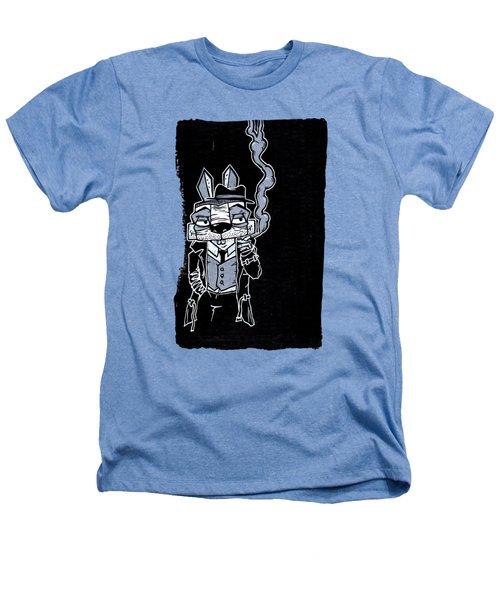 Blake Burns Detective Bunny Heathers T-Shirt by Bizarre Bunny