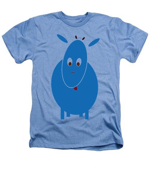 Blue Bestia Heathers T-Shirt by Frank Tschakert
