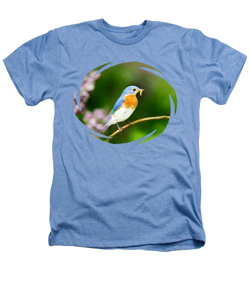 Bluebird Heathers T-Shirt by Christina Rollo