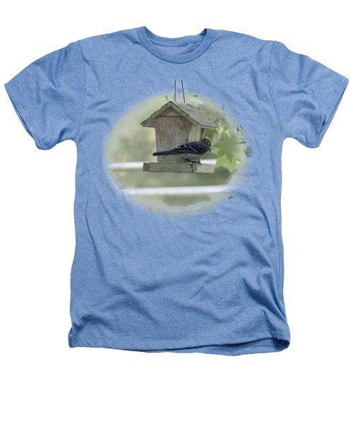 Bluejay Heathers T-Shirt by Judy Hall-Folde