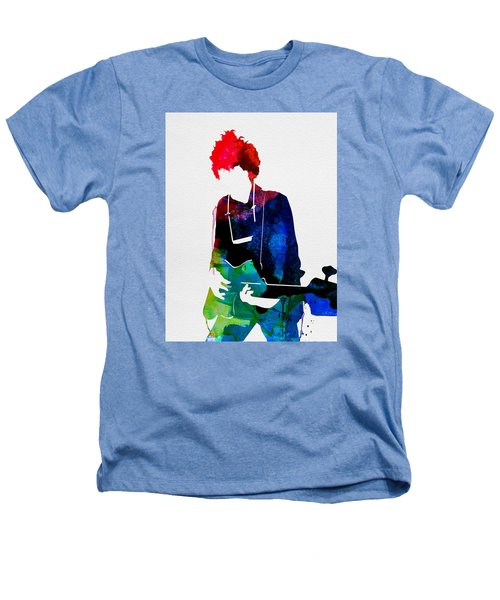 Bob Watercolor Heathers T-Shirt by Naxart Studio