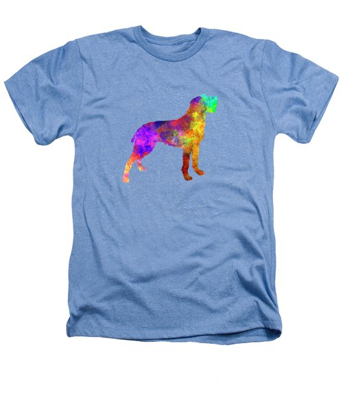 Bohemian Wirehaired Pointing Griffon In Watercolor Heathers T-Shirt by Pablo Romero