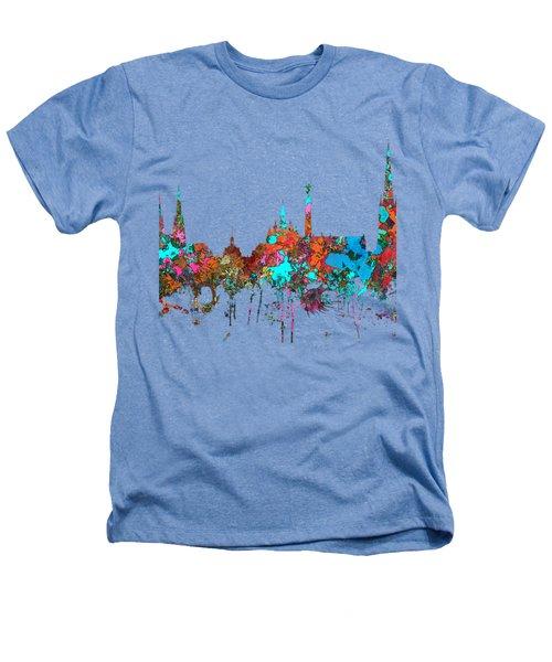 Bordeaux France  Skyline  Heathers T-Shirt by Marlene Watson