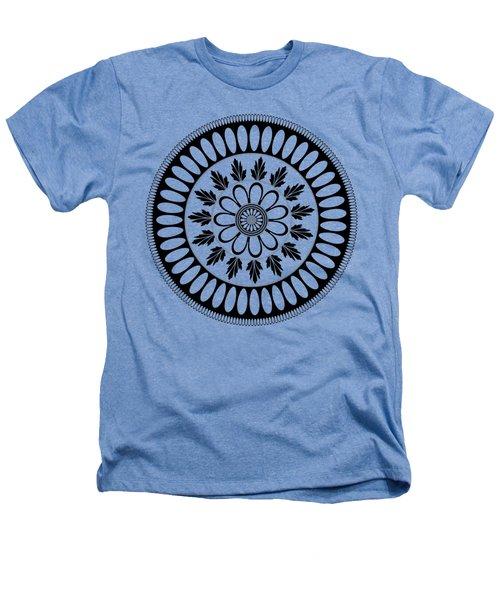 Botanical Ornament Heathers T-Shirt by Frank Tschakert