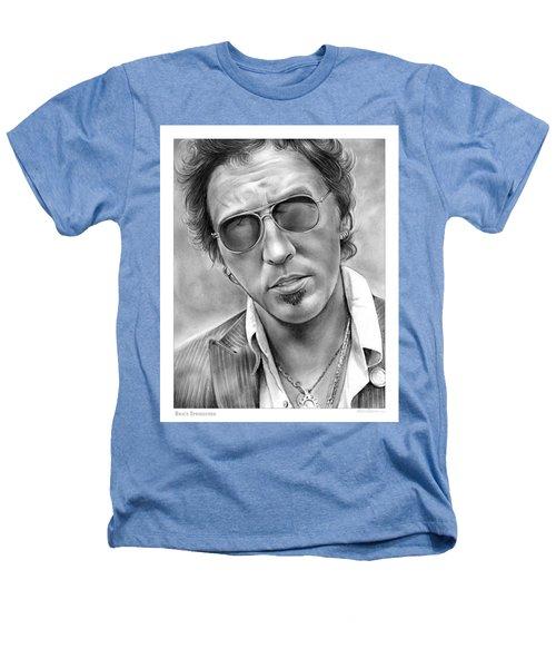 Bruce Springsteen Heathers T-Shirt by Greg Joens