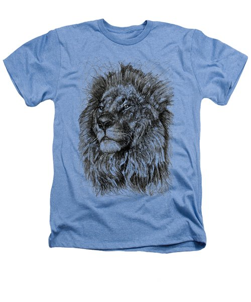 Cecil The Lion Heathers T-Shirt by Michael  Volpicelli
