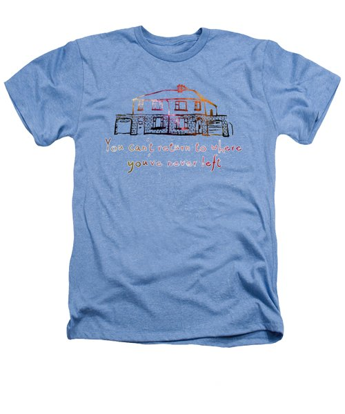 Cedarwood House Heathers T-Shirt by Clad63