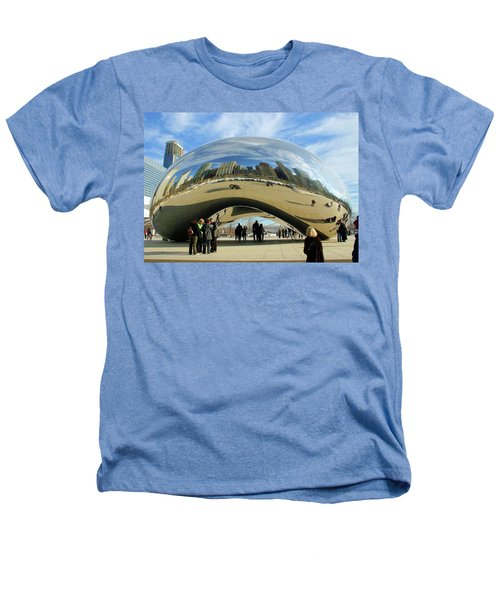 Chicago Reflected Heathers T-Shirt by Kristin Elmquist
