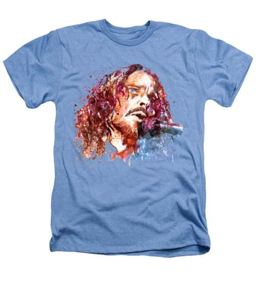 Chris Cornell Heathers T-Shirt by Marian Voicu