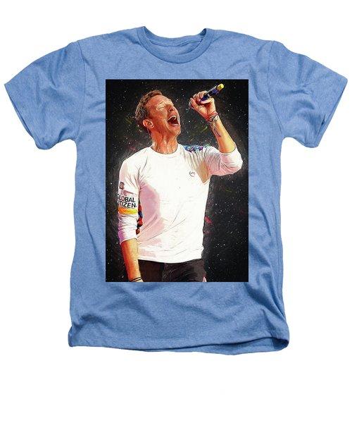 Chris Martin - Coldplay Heathers T-Shirt by Semih Yurdabak