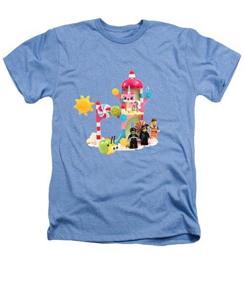 Cloud Cuckoo Land Heathers T-Shirt by Snappy Brick Photos