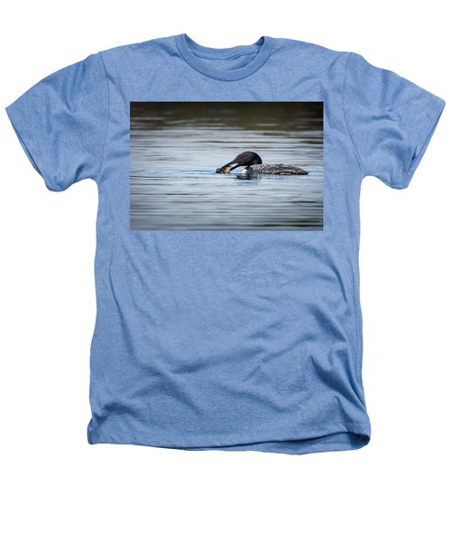 Common Loon Heathers T-Shirt by Bill Wakeley