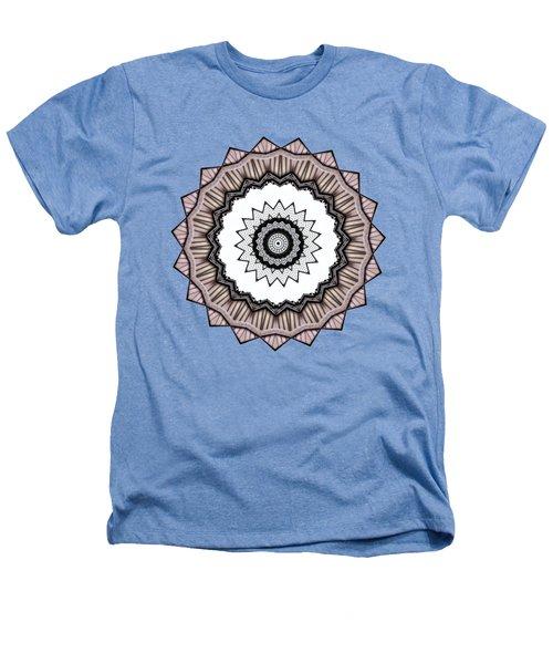 Construction Mandala By Kaye Menner Heathers T-Shirt by Kaye Menner