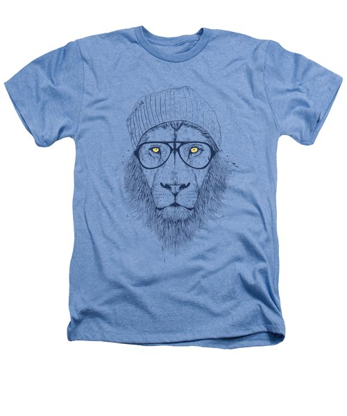 Cool Lion Heathers T-Shirt by Balazs Solti