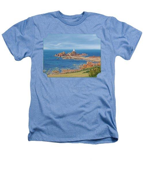 Corbiere Lighthouse Jersey Heathers T-Shirt by Gill Billington