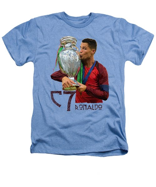 Cristiano Ronaldo Heathers T-Shirt by Armaan Sandhu