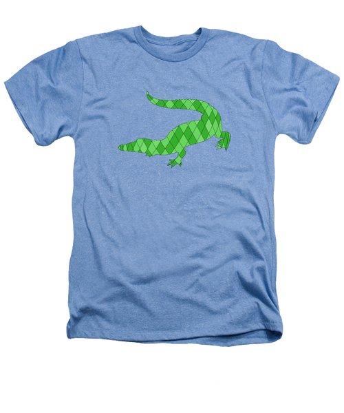 Crocodile Heathers T-Shirt by Mordax Furittus