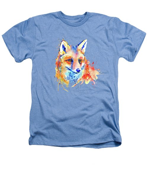 Cute Foxy Lady Heathers T-Shirt by Marian Voicu