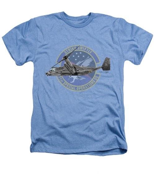 Cv-22b Osprey 71sos Heathers T-Shirt by Arthur Eggers
