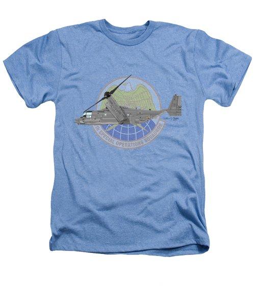 Cv-22b Osprey 7sos Heathers T-Shirt by Arthur Eggers