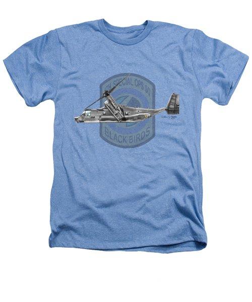 Cv-22b Osprey 8sos Heathers T-Shirt by Arthur Eggers