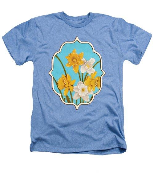 Daffodils Heathers T-Shirt by Anastasiya Malakhova