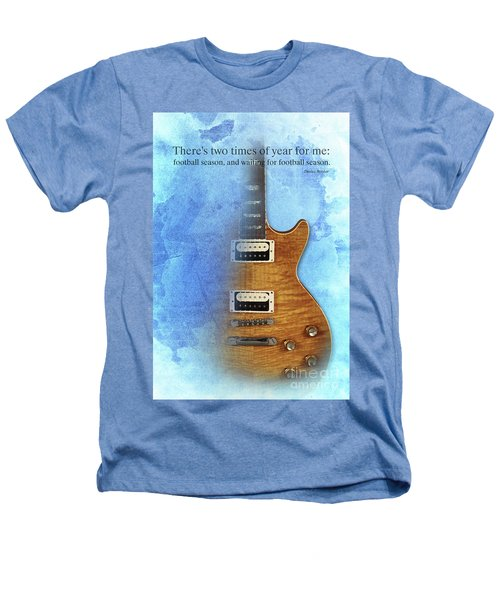 Darius Rucker Inspirational Quote, Electric Guitar Poster For Music Lovers And Musicians Heathers T-Shirt by Pablo Franchi
