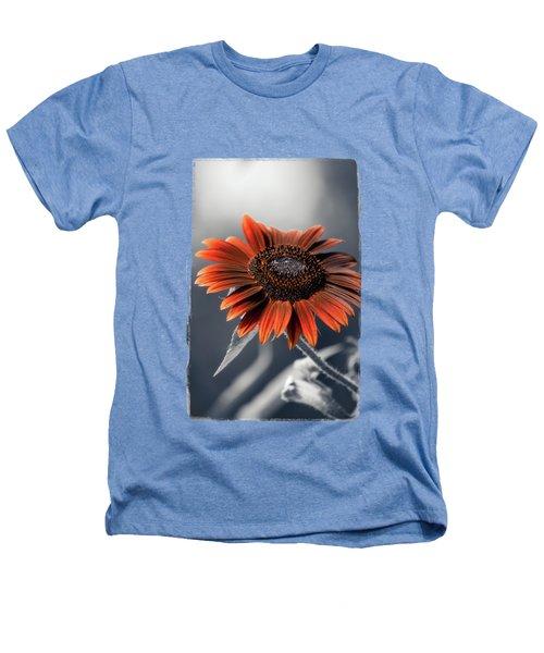 Dark Sunflower Heathers T-Shirt by Konstantin Sevostyanov