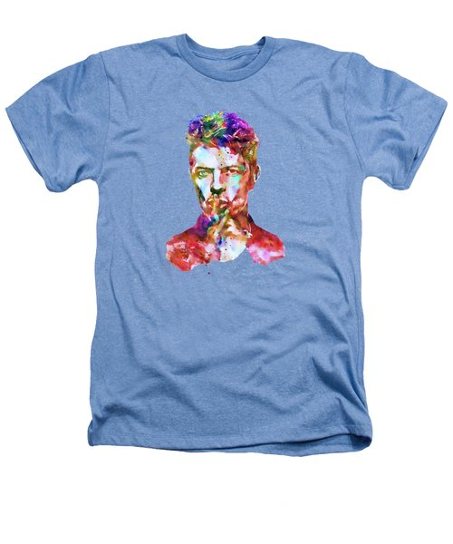 David Bowie  Heathers T-Shirt by Marian Voicu