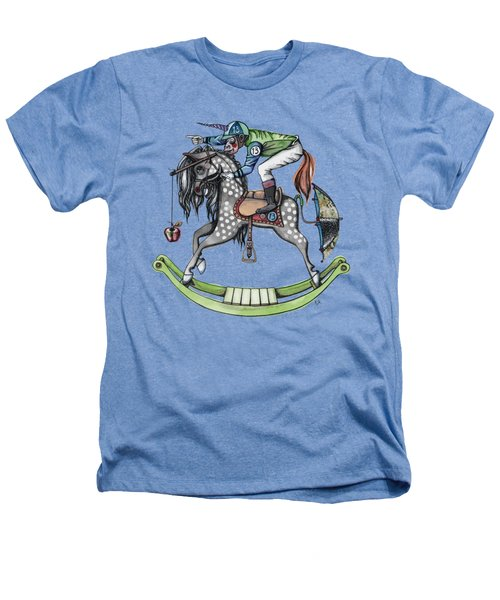 Day At The Races Heathers T-Shirt by Kelly Jade King