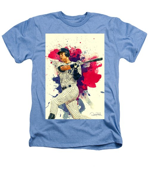 Derek Jeter Heathers T-Shirt by Taylan Soyturk