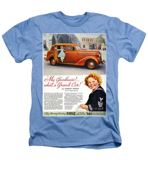 Dodge Automobile Ad, 1936 Heathers T-Shirt by Granger