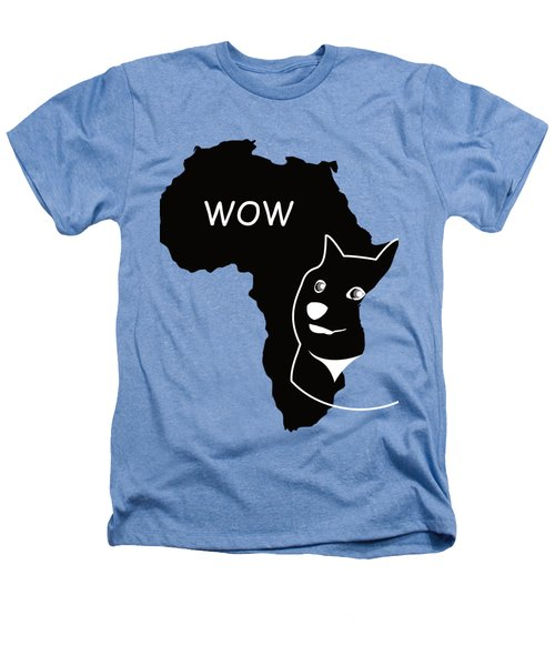 Dogecoin In Africa Heathers T-Shirt by Michael Jordan