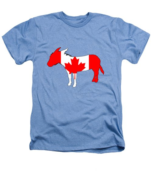 Donkey Canada Heathers T-Shirt by Mordax Furittus